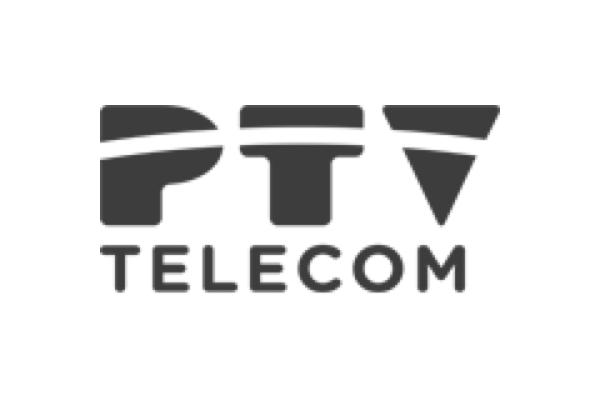 Logo de PTV Telecom